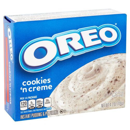 Jell-O Oreo Cookies n Cream