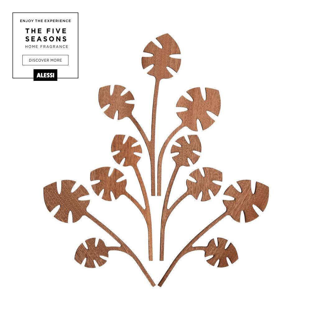 Fragrance diffuser leaves