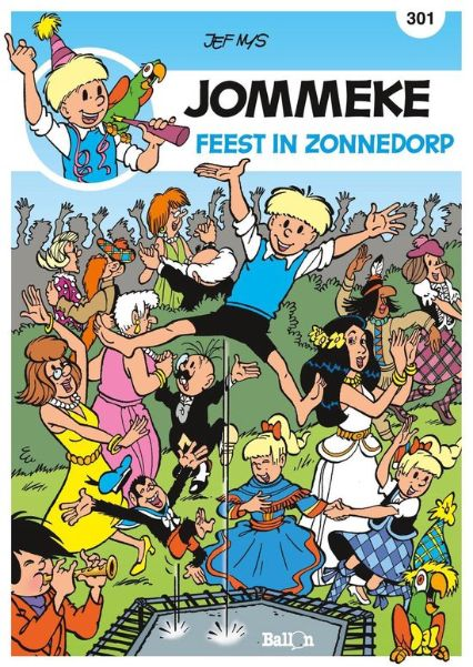 Feest in zonnedorp