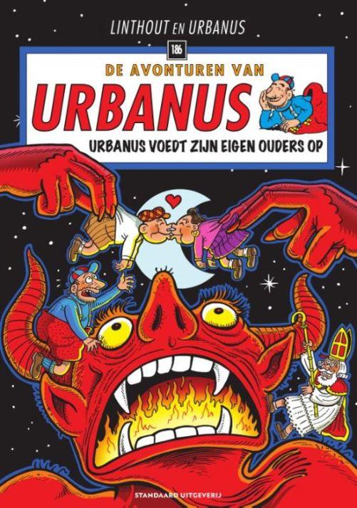 Urbanus voedt zijn eigen ouders op