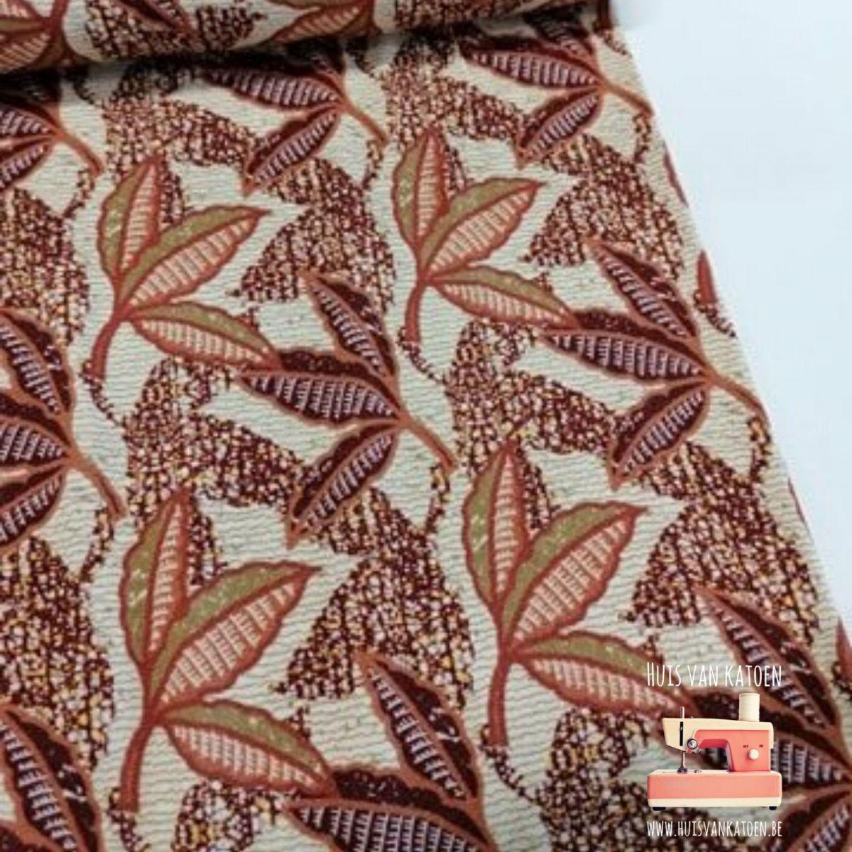 Viscose jersey - African print