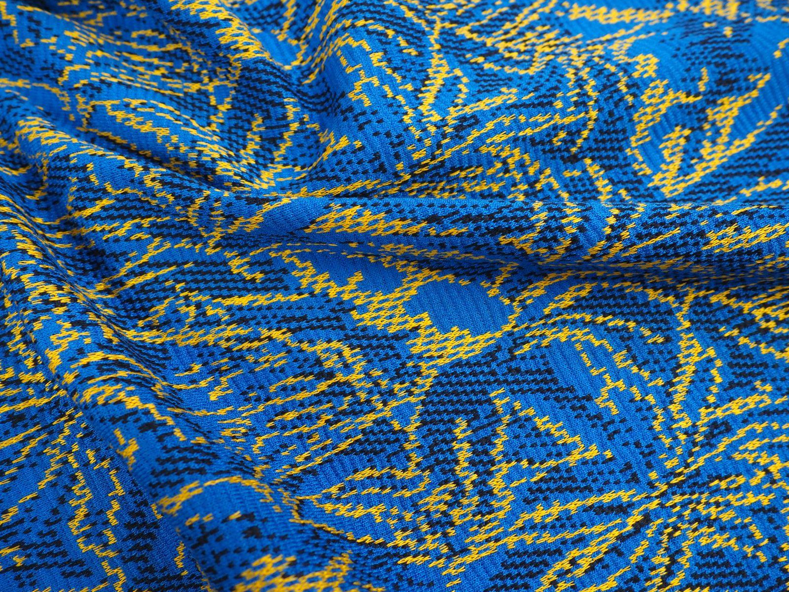 Jacquard - Blauw