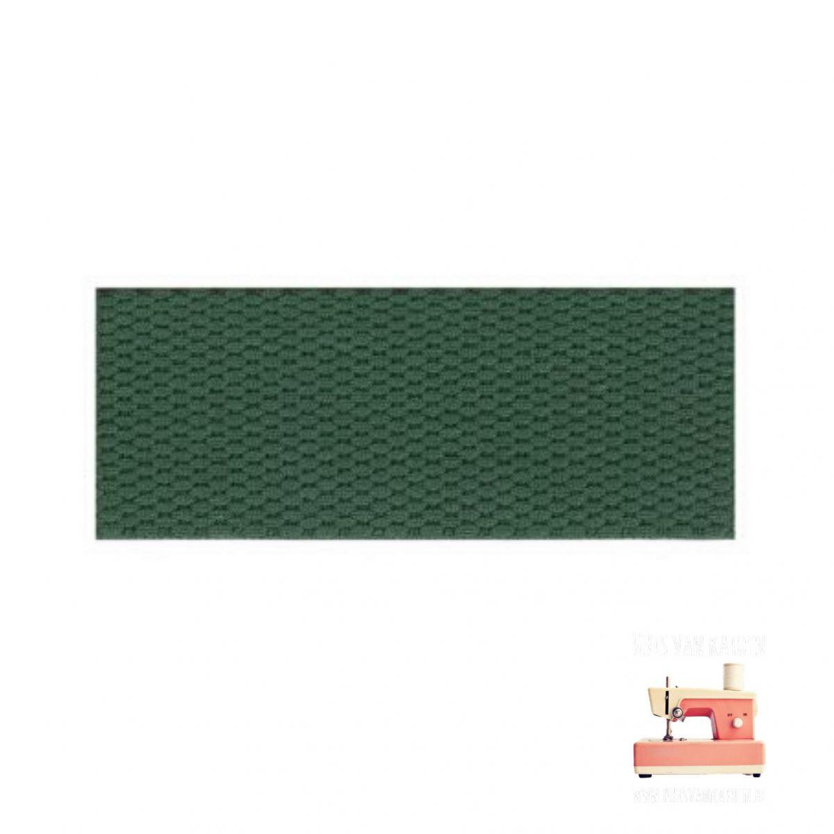 Tassenband 30 mm - Dennengroen