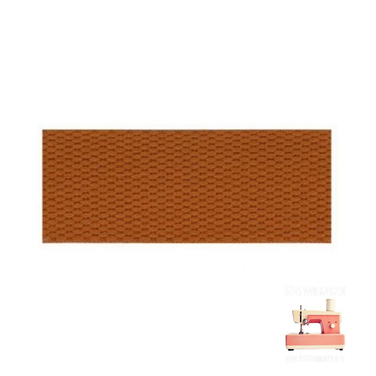 Tassenband 30 mm - Roest