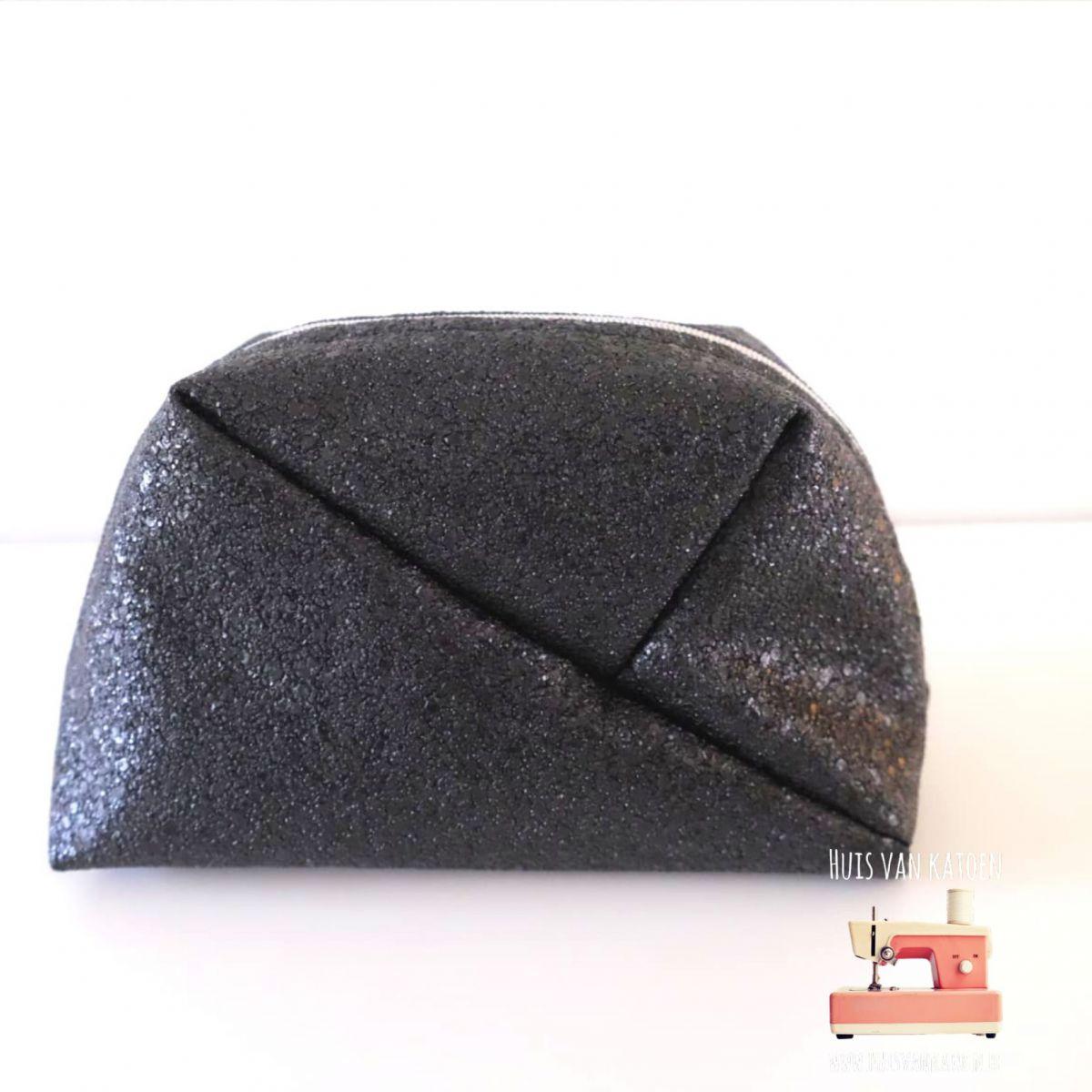 Vegan imitatieleder - Black rocks