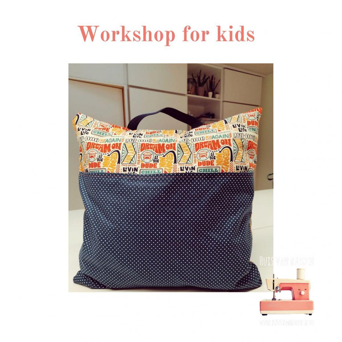 Workshop for kids   Za 7/03 (13.30 - 17u)