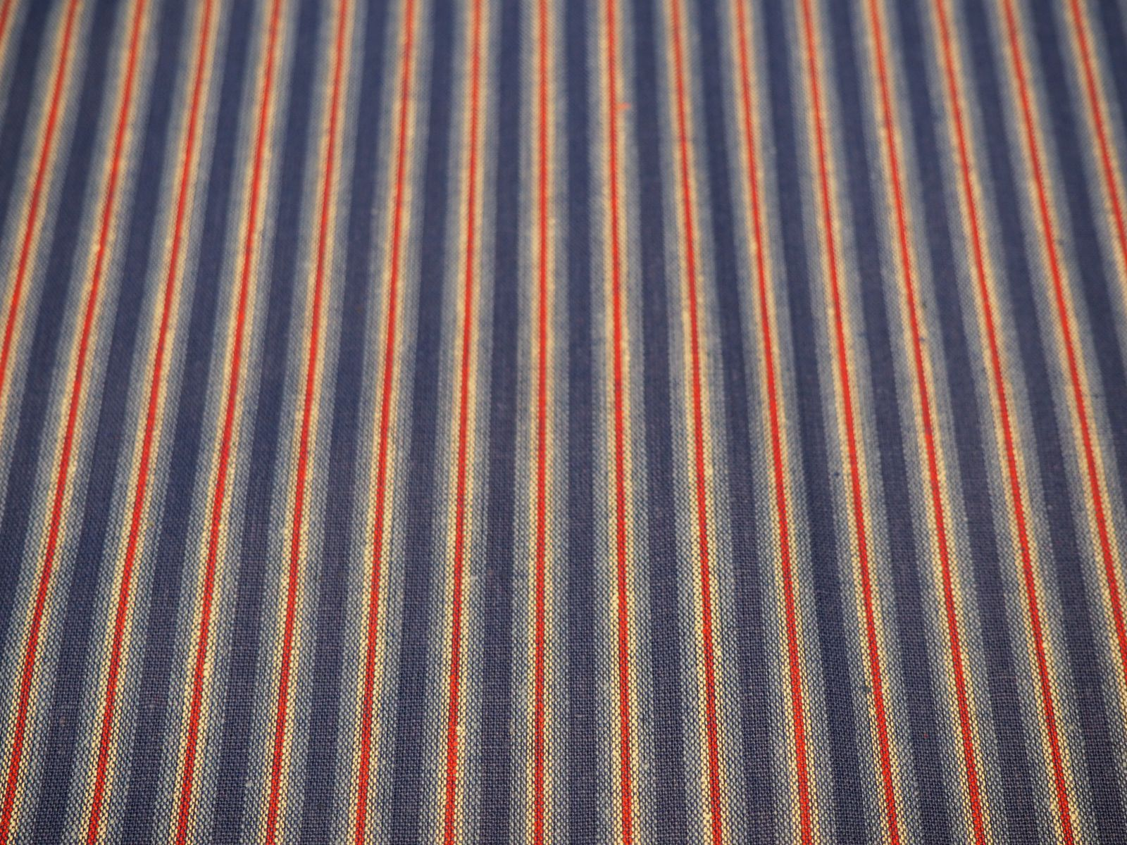 72d8b97e7b9 Katoen - rood en blauw gestreept